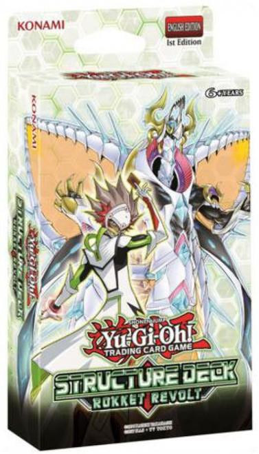 YuGiOh Trading Card Game Rokket Revolt Structure Deck