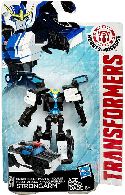 Transformers Robots in Disguise Patrol Mode Strongarm Legion Action Figure [Damaged Package]