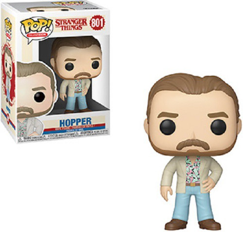 Funko Stranger Things Season 3 POP! TV Hopper Vinyl Figure #801 [Date Night]