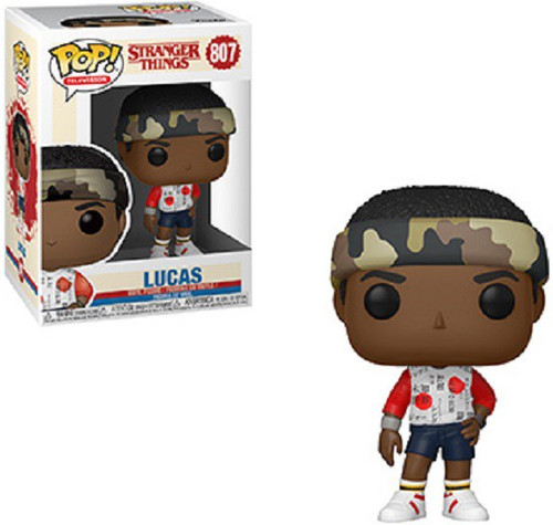 Funko Stranger Things Season 3 POP! TV Lucas Vinyl Figure #807