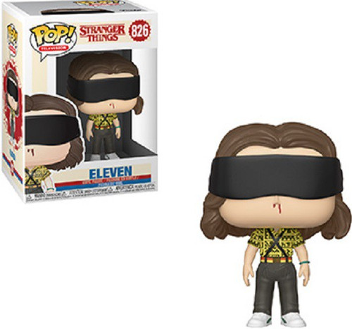 eleven s mall outfit roblox Funko Stranger Things Season 3 Pop Tv Eleven Vinyl Figure 802 Mall Outfit Toywiz