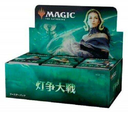 MtG Trading Card Game War of the Spark Booster Box [Japanese Language, 36 Packs]