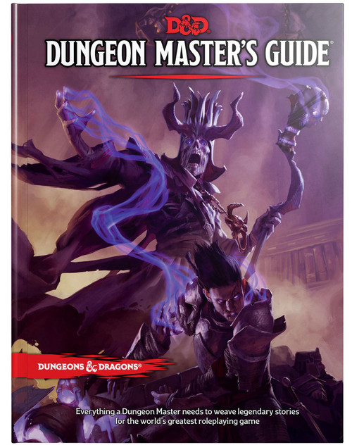 Dungeons & Dragons 5th Edition Dungeon Masters Guide Hardcover Roleplaying Core Rulebook