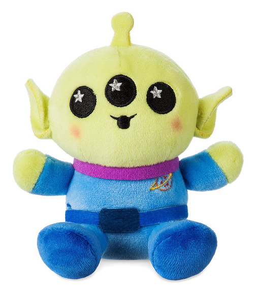 Disney Wishables Buzz Lightyear Attraction Alien Exclusive 4-Inch Micro Plush