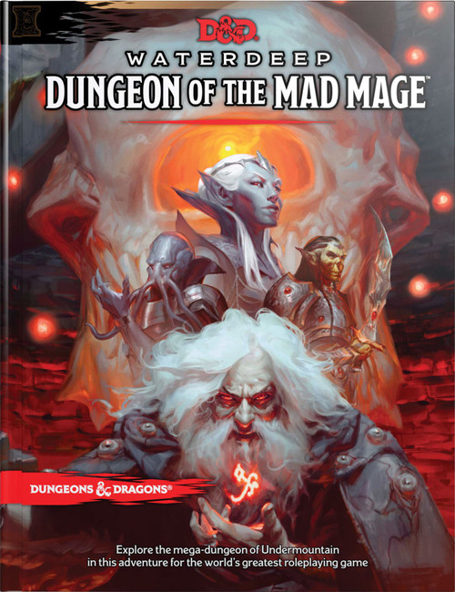 Dungeons & Dragons 5th Edition Dungeon of the Mad Mage Hardcover Roleplaying Book