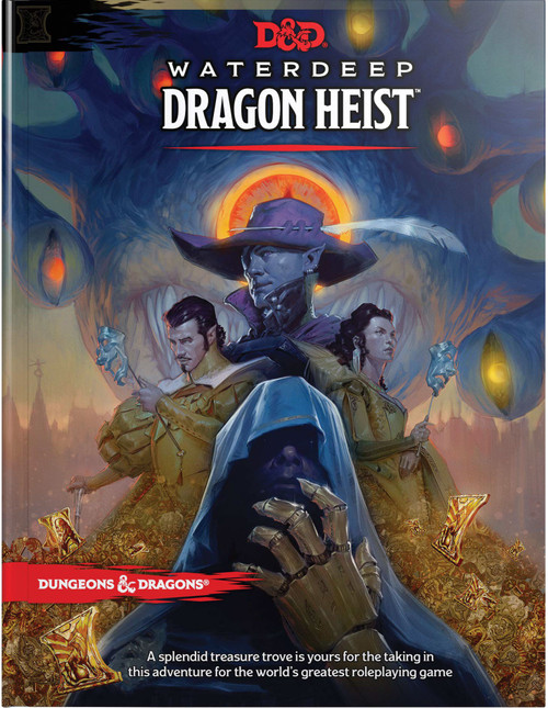 Dungeons & Dragons 5th Edition Waterdeep: Dragon's Heist Hardcover Roleplaying Book