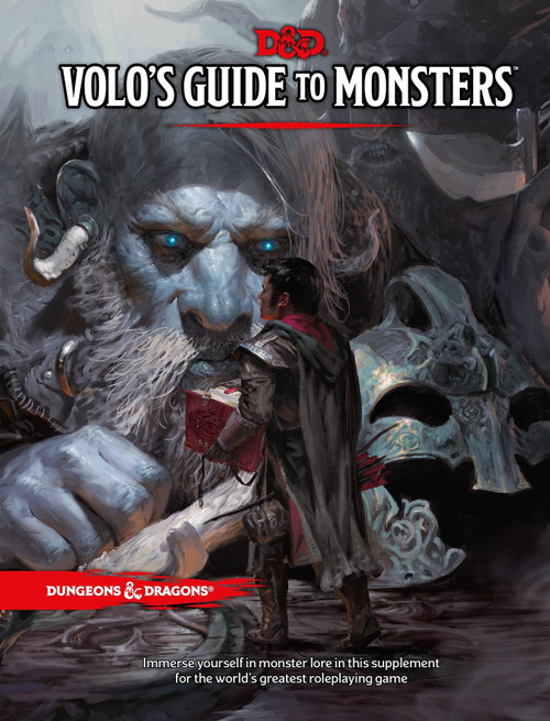 Dungeons & Dragons 5th Edition Volo's Guide to Monsters Hardcover Roleplaying Book