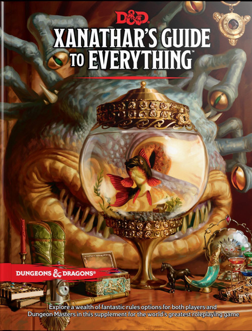Dungeons & Dragons 5th Edition Xanathar's Guide to Everything Hardcover Roleplaying Book
