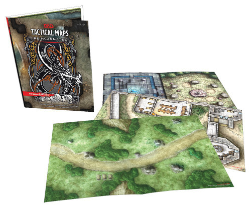 Dungeons & Dragons 5th Edition Tactical Map Pack Reincarnated Roleplaying Accessory
