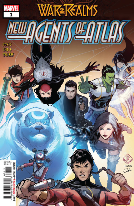 Marvel Comics War of The Realms New Agents of Atlas #1 Comic Book [First U.S. appearances of Wave, Aero, and Sword Master]