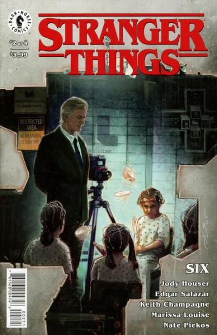 Dark Horse Stranger Things Six #2 Comic Book [Aleksi Briclot Cover A]