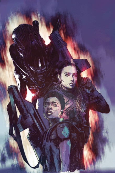 Dark Horse Aliens Rescue #2 Comic Book [Mack Chater Variant]