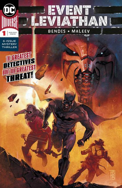 DC Event Leviathan #1 Comic Book