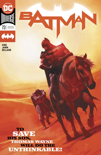DC Batman #73 Comic Book