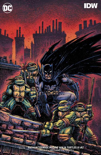 DC Batman / Teenage Mutant Ninja Turtles III #2 Comic Book [Kevin Eastman Variant]
