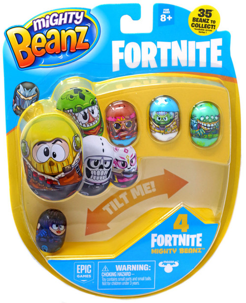 Mighty Beanz Fortnite Shadow Ops 4-Pack [Version 1]