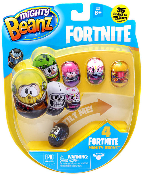 Mighty Beanz Fortnite Shadow Ops 4-Pack [Version 2]