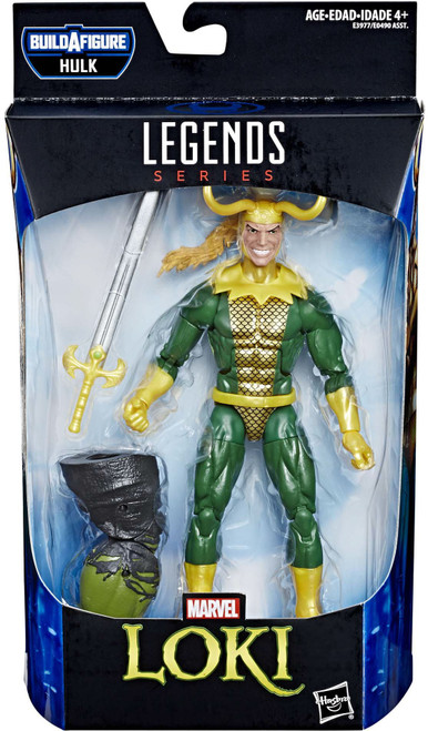 Avengers Endgame Marvel Legends Hulk Series Loki Action Figure