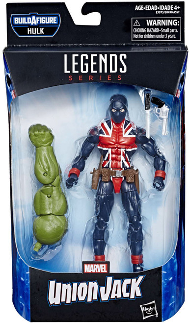 Avengers Endgame Marvel Legends Hulk Series Union Jack Action Figure
