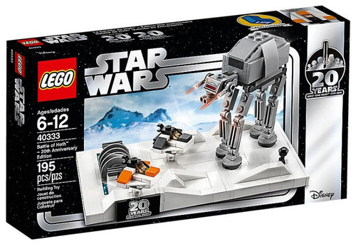 LEGO Star Wars 20th Anniversary Edition Battle of Hoth Set #40333