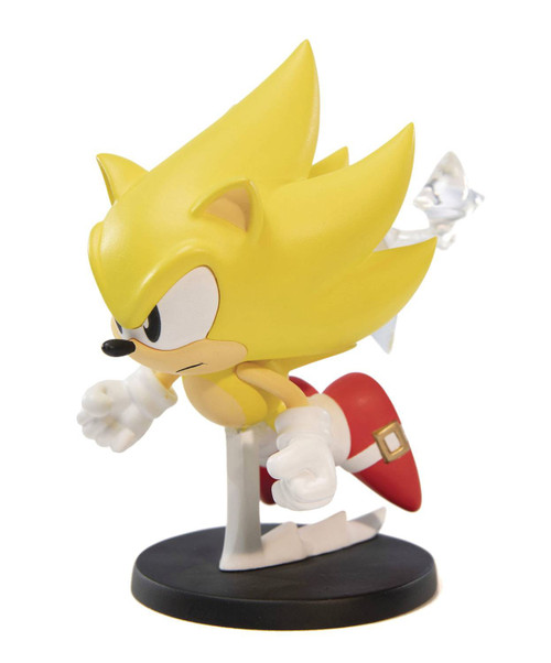 Sonic The Hedgehog BOOM8 Super Sonic 4-Inch Collectible PVC Figure