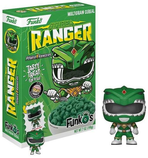 FunkO's Mighty Morphin Power Rangers Green Ranger Exclusive Breakfast Cereal