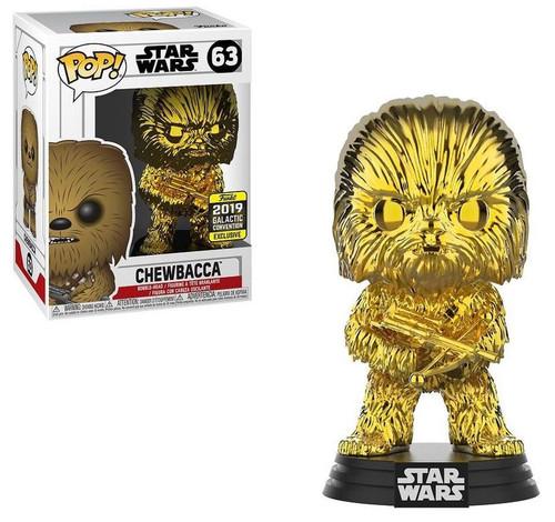 Funko POP! Star Wars Chewbacca Exclusive Vinyl Figure #63