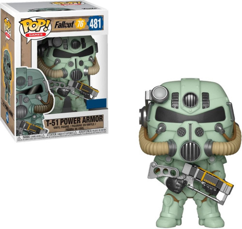Funko Fallout 76 POP! Games T-51 Power Armor Exclusive Vinyl Figure [Green]