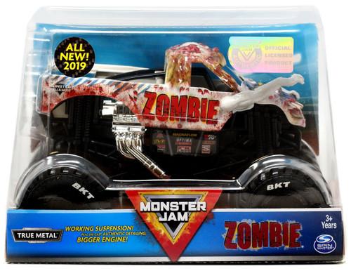 Monster Jam True Metal Zombie Diecast Car [All New 2019]