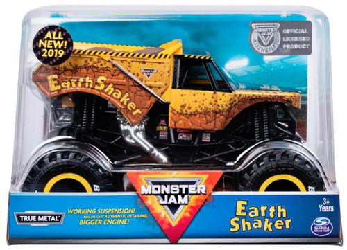 Monster Jam True Metal Earth Shaker Diecast Car [1:24, 2019]