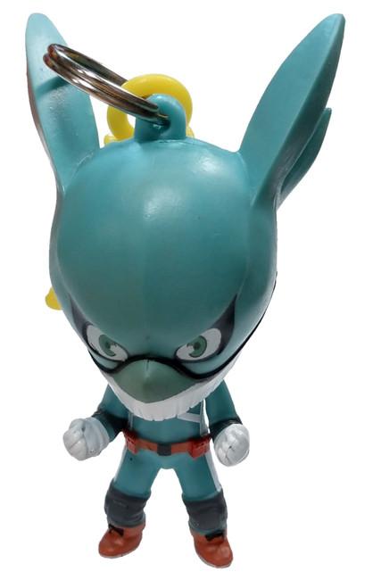 My Hero Academia Backpack Clips Izuku Midoriya Deku Minifigure [Loose]