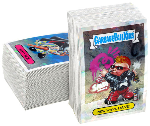 Garbage Pail Kids Topps 2013 Chrome Series 1 Atomic Refractor Trading Card Complete Set