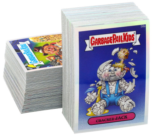 Garbage Pail Kids Topps 2014 Chrome Series 2 Refractor Trading Card Complete Set