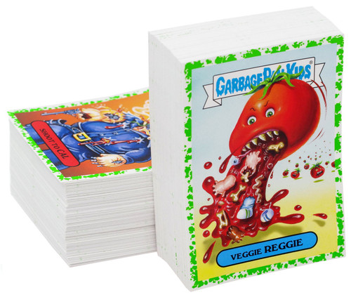 Garbage Pail Kids Topps 2018 Horror Trading Card Set [Green Set]