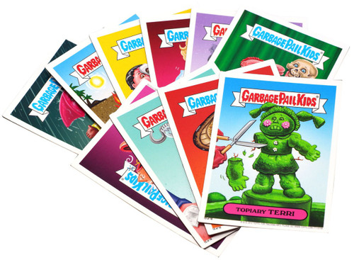 Garbage Pail Kids Topps Magnet Trading Card Sticker Set [16 Magnets]