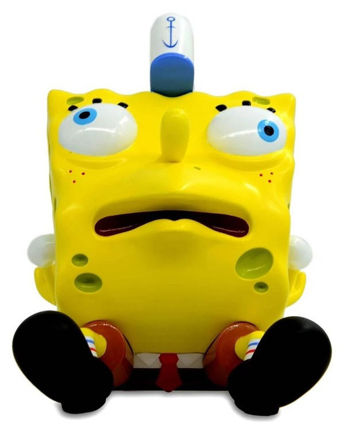 Nickelodeon SpongeBob Squarepants Masterpiece Meme Series 1 Mocking Spongebob 8-Inch Vinyl Figure