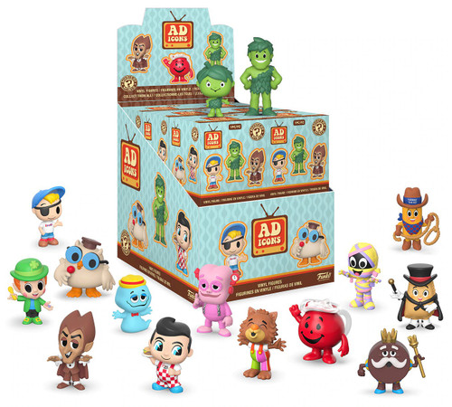 Funko Mystery Minis Ad Icons Mystery Box [12 Packs]