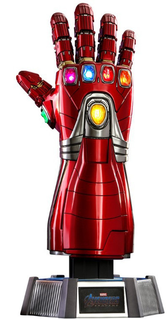 Marvel Avengers Endgame Nano Gauntlet (Stark Version) Full Scale Light-Up Replica