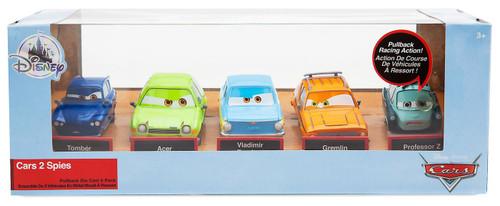 Disney / Pixar Cars Cars 3 Pull 'N' Race Spies Exclusive Diecast Car 5-Pack