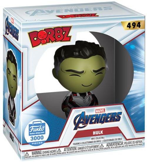 Funko Marvel Avengers Endgame Dorbz Hulk Exclusive Vinyl Figure #494 [Limited Edition]