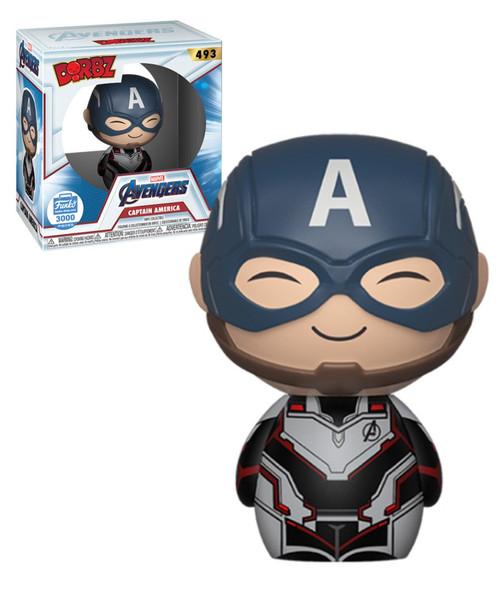 Funko Marvel Avengers Endgame Dorbz Captain America Vinyl Figure #493 [Limited Edition]