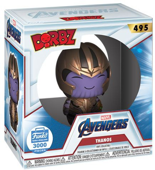 Funko Marvel Avengers Endgame Dorbz Thanos Vinyl Figure #495 [Limited Edition]
