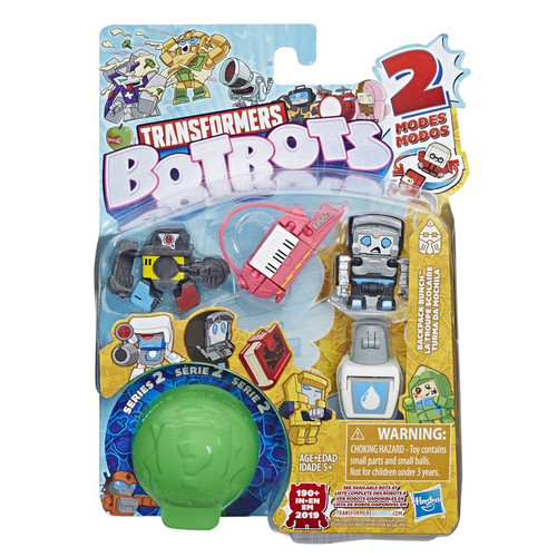 Transformers BotBots Series 2 Backpack Bunch Mini Figure 5-Pack [RANDOM Figures!]