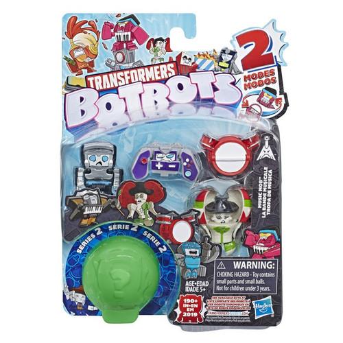 Transformers BotBots Series 2 Music Mob Mini Figure 5-Pack [RANDOM Figures!]