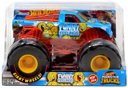 Hot Wheels Monster Trucks Funny Feelings Diecast Car