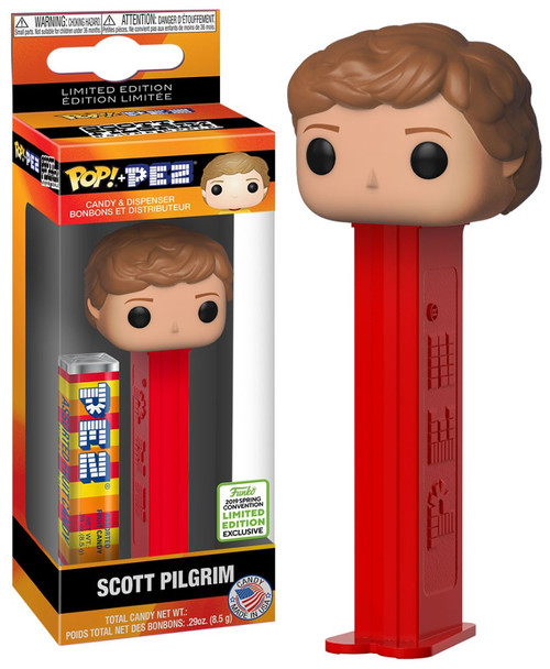 Funko Scott Pilgrim vs The World POP! PEZ Scott Pilgrim Exclusive Candy Dispenser