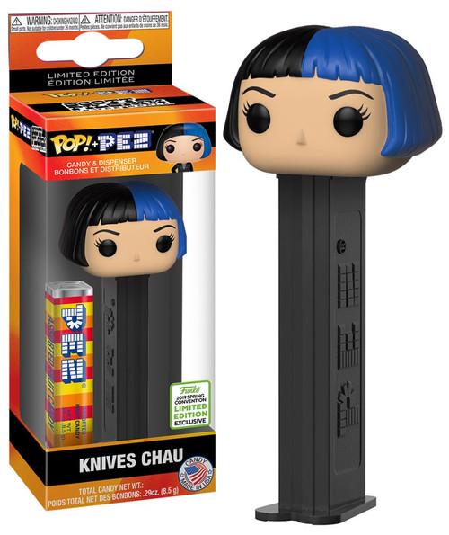 Funko Scott Pilgrim vs The World POP! PEZ Knives Chau Exclusive Candy Dispenser
