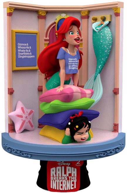 Disney Wreck-It Ralph 2: Ralph Breaks the Internet D-Stage Ariel 6-Inch Diorama Statue DS-023