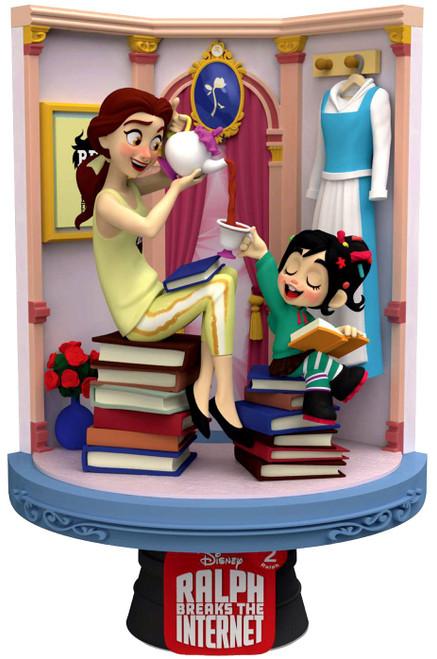 Disney Wreck-It Ralph 2: Ralph Breaks the Internet D-Stage Belle 6-Inch Diorama Statue DS-024