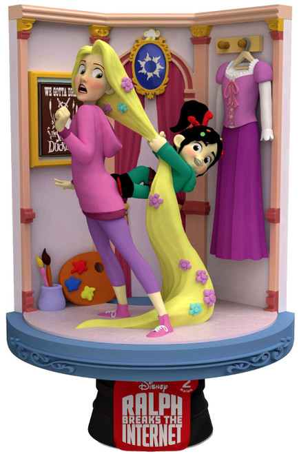 Disney Wreck-It Ralph 2: Ralph Breaks the Internet D-Stage Rapunzel 6-Inch Diorama Statue DS-027